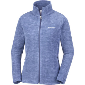 Columbia Fast Trek Light Printed Chaqueta con cremallera completa Mujer, nocturnal space